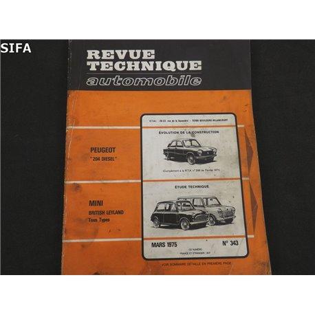Mini British Leyland Revue technique