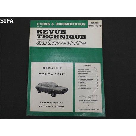Renault 17 TL et TS Revue technique