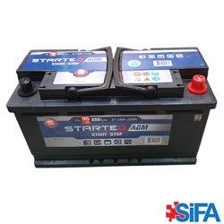 Batterie 12V 95Ah 850A START AND STOP