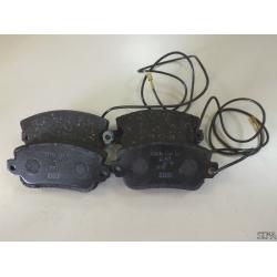 Plaquettes de freins avant Lancia Beta et Lancia Trevi