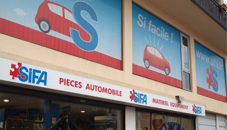 Magasin SIFA